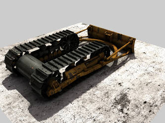 T 100 M Bulldozer WIP 1 by eRe4s3r