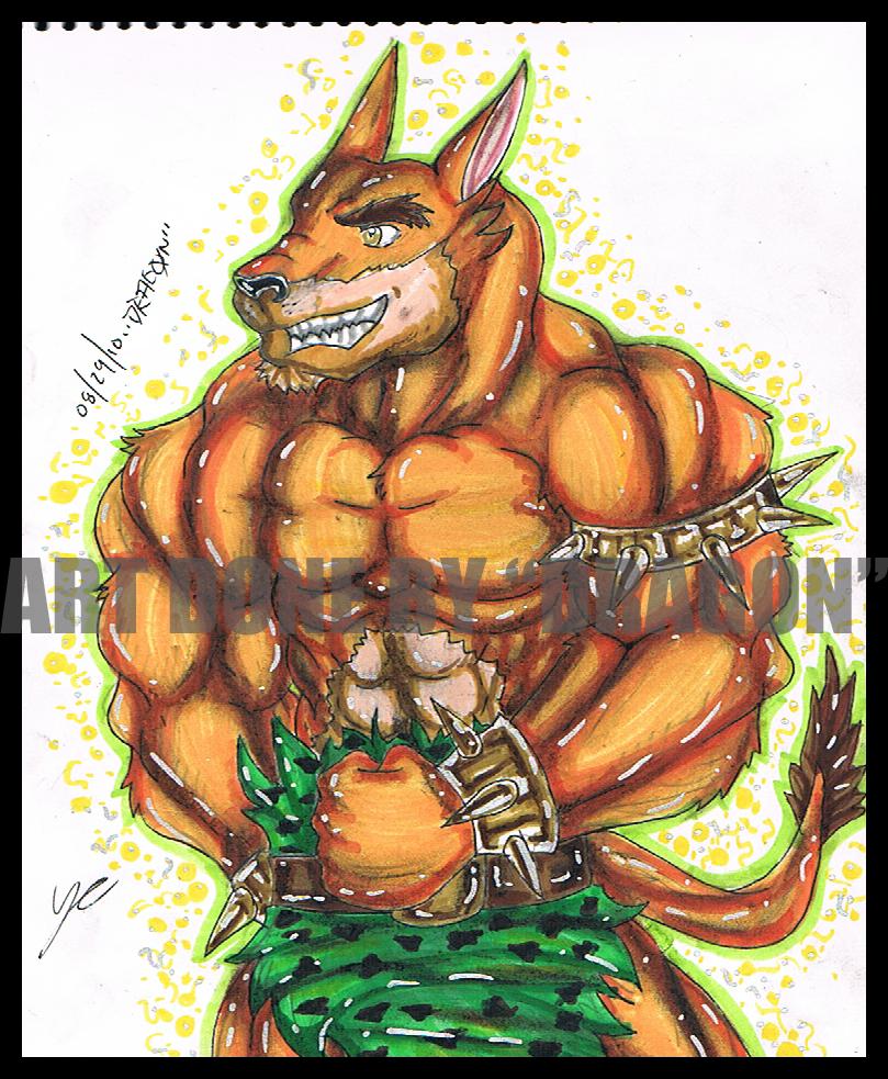 Tiny Tiger by TK-DRAGON