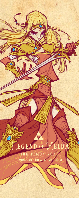 Wallscroll: Zelda by DemonRoad