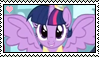 Alicorn Twilight Stamp by Meadow-Leaf
