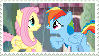Flutterdash stamp by Meadow-Leaf