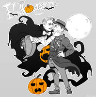 Resident evil 6 -Halloween Nivanfield by hi-host