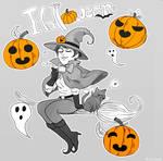 Resident evil 6 -Halloween Herperwong by hi-host