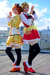 Sunny Day Song: Rin and Hanayo