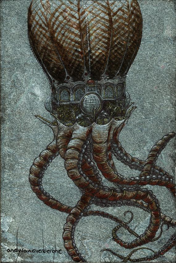 the roboctopus ballroom airship