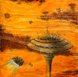 star wars: approach to cloud city, bespin by andyvanoverberghe