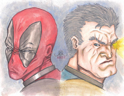 Deadpool Cable by xASHLERx