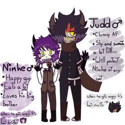 Nimhe and Judd by Jinkashi