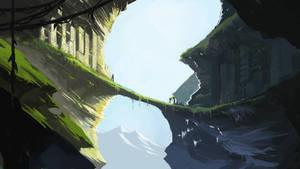 Mountainside Ruins