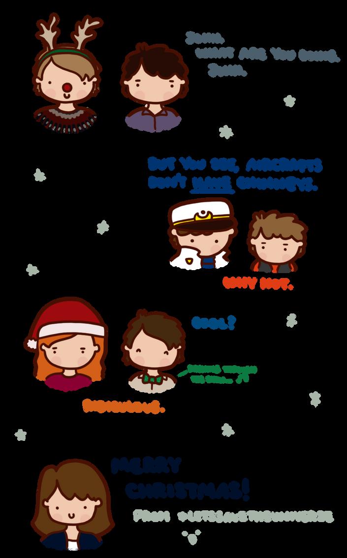 Christmas sketch dump. by LetsSaveTheUniverse