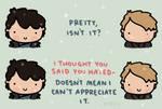 Doesn't mean I can't appreciate it.