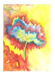 Abstract WaterColor Tree by Kefka750