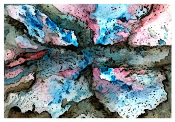 Water Color / India Ink abstract by Kefka750