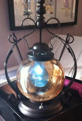 First Etsy Lamp by TheCelticCowboy