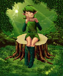 Saria Playing for you