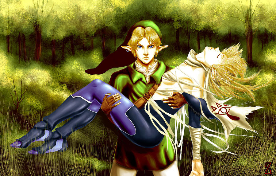 Ocarina of time - The hideout in the woods an artists dream ...