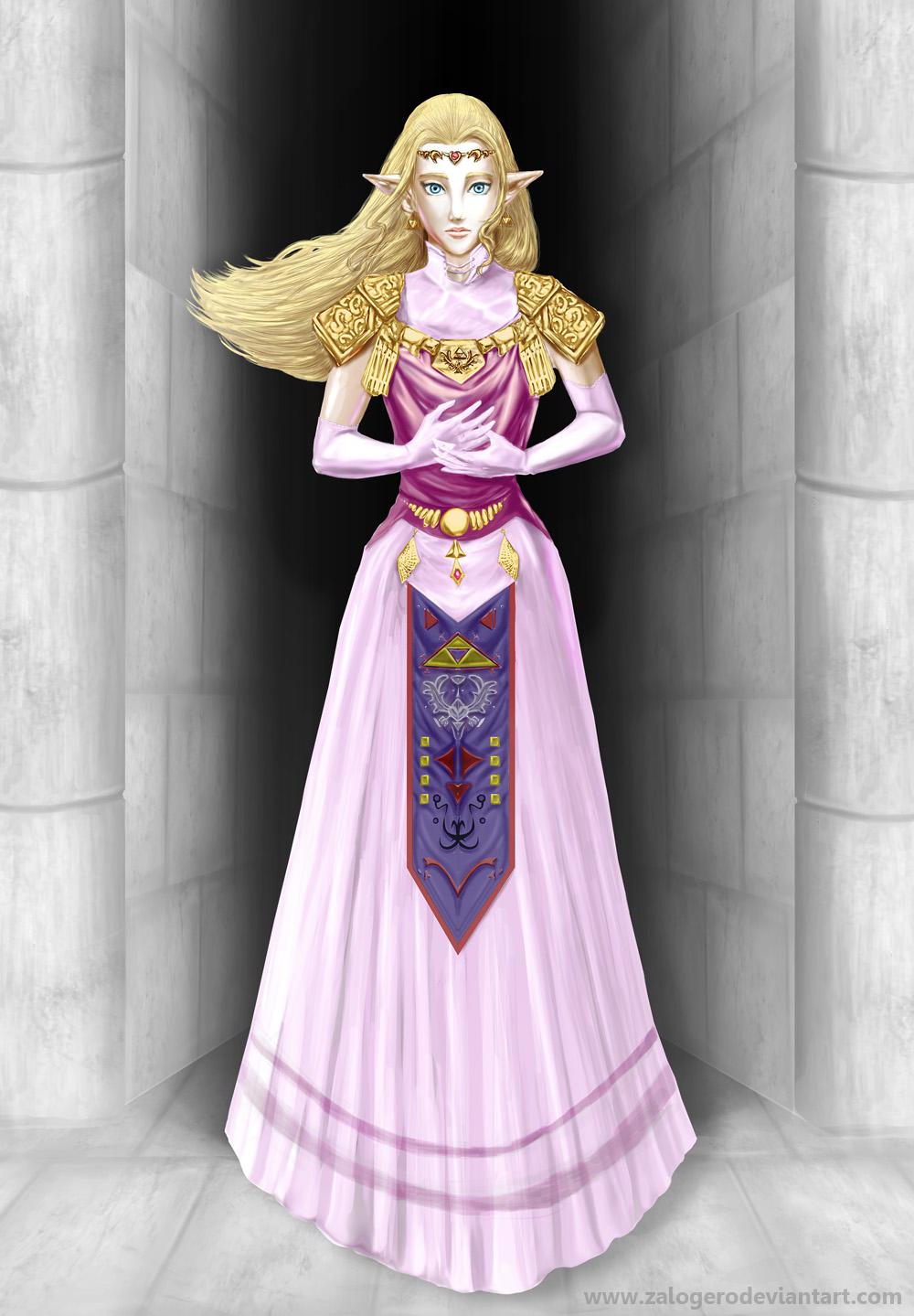 Princess Zelda Ocarina of time by ZaloHero