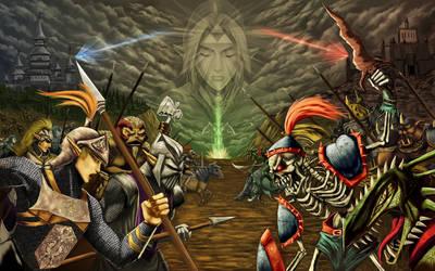 Hyrule War by ZaloHero