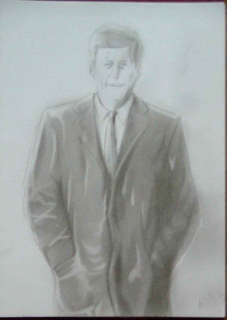 John Fitzgerald Kennedy by ADOrnelas