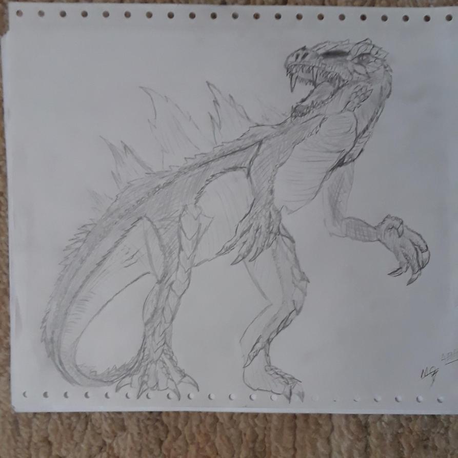 Godzilla saurus by ADOrnelas