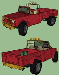 Trevor's Truck by RustyHauser
