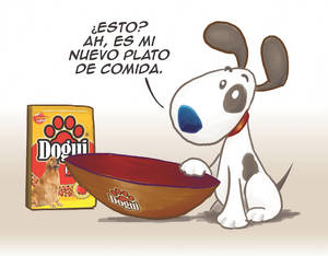 Cartoon concept for Dogui Brand