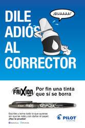 Advertising campaign for Pilot Pen Mexico
