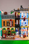Lego Main Street With Lights (18)