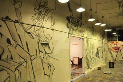 Urban Art-Illery Group Graffiti Show - Mural 08 by 33third