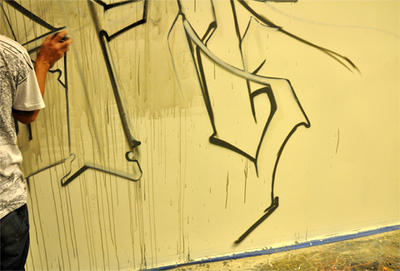 Urban Art-Illery Group Graffiti Show - Atlas 05 by 33third