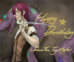 Happy birthday! Jason! by Ticci-Dorje