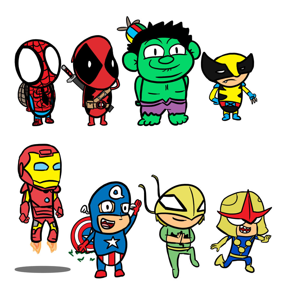 New Marvel Elementary by bobpatrick7