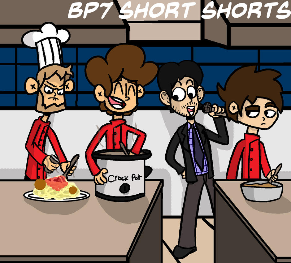 BP7 Short Shorts Cooking Special Promo by bobpatrick7