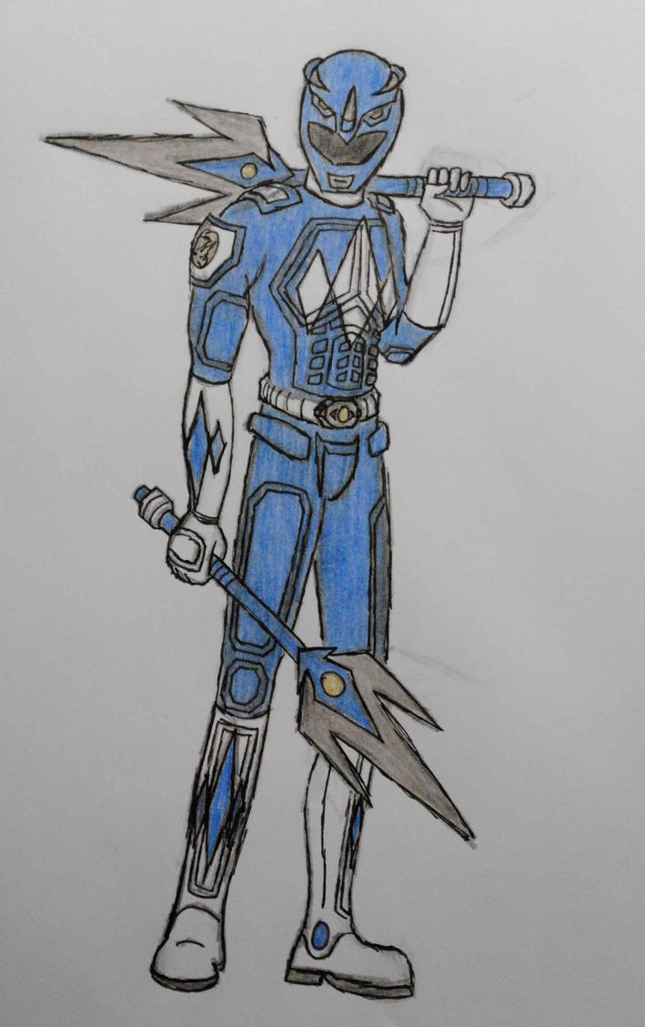 Billy Cranston a.k.a Blue Ranger by ccura