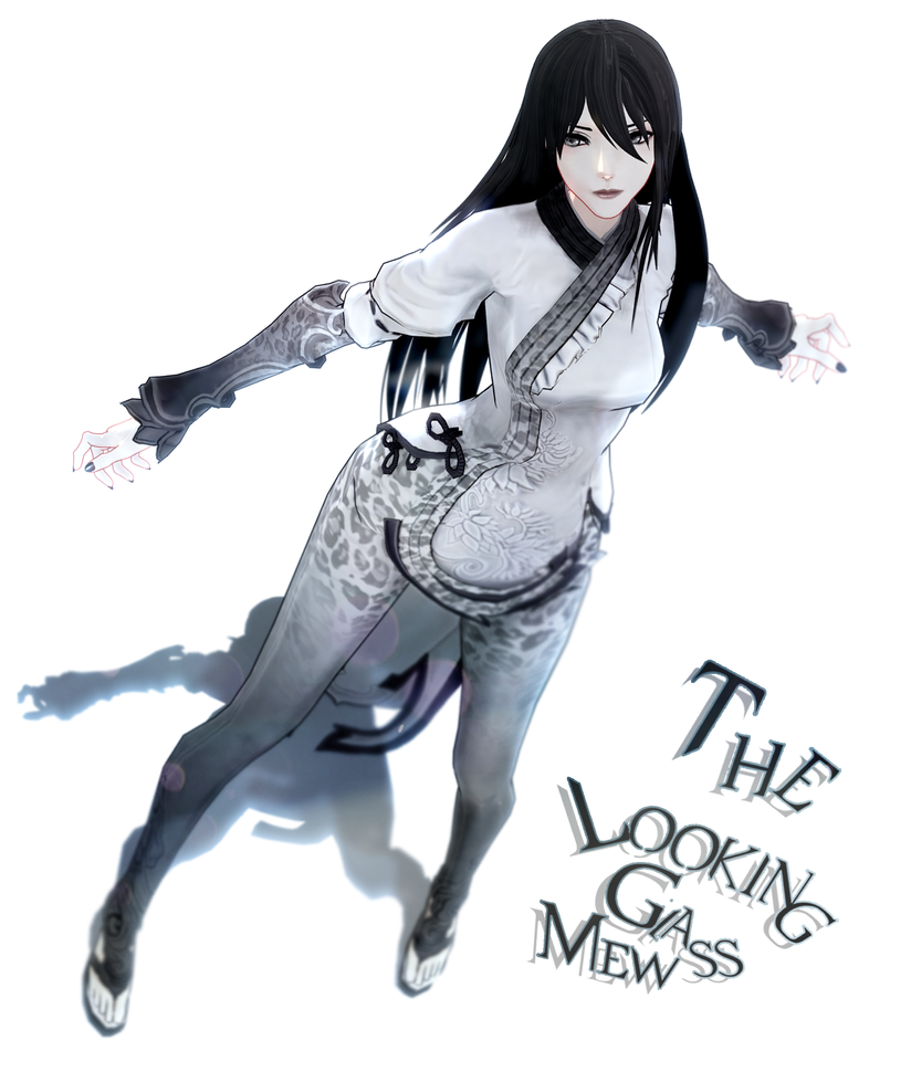 [MMD model download] The Looking Glass Mew by Hidaomori