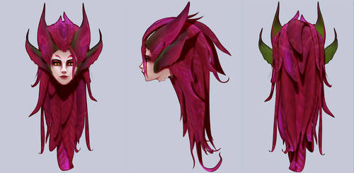 [League of Legends] Zyra [W.I.P.] by Hidaomori