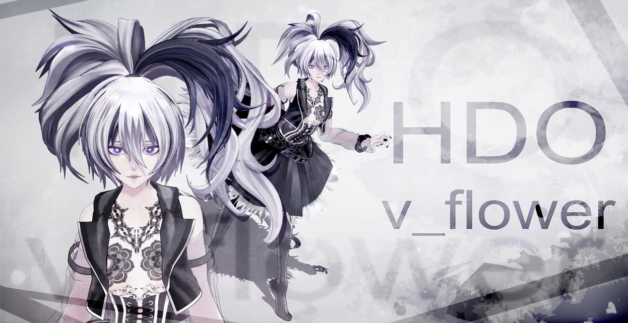 [MMD model download] HDO v_flower [LINK UPDATED!] by Hidaomori