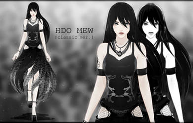 [MMD model download] HDO Mew 1.0 [CLOSED] by Hidaomori