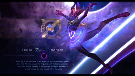 [MMD MODEL DOWNLOAD] Dark Star Orianna by Hidaomori