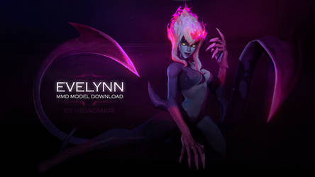 [MMD model download]  HDO Evelynn Agony's Embrace by Hidaomori