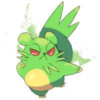Grass Chinchilla Fakemon Sold by DarkySG