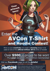AVCon T-shirt and Hoodie poster by rosiecoleman