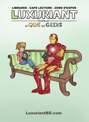 Flyer Librairie Luxuriant BD