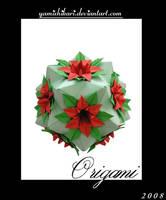 Origami Flowerpot by yamixhikari