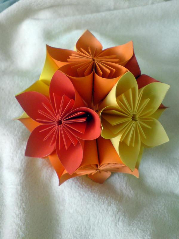 Kusudama flower ball by yamixhikari on deviantart kusudama flower ball by yamixhikari mightylinksfo