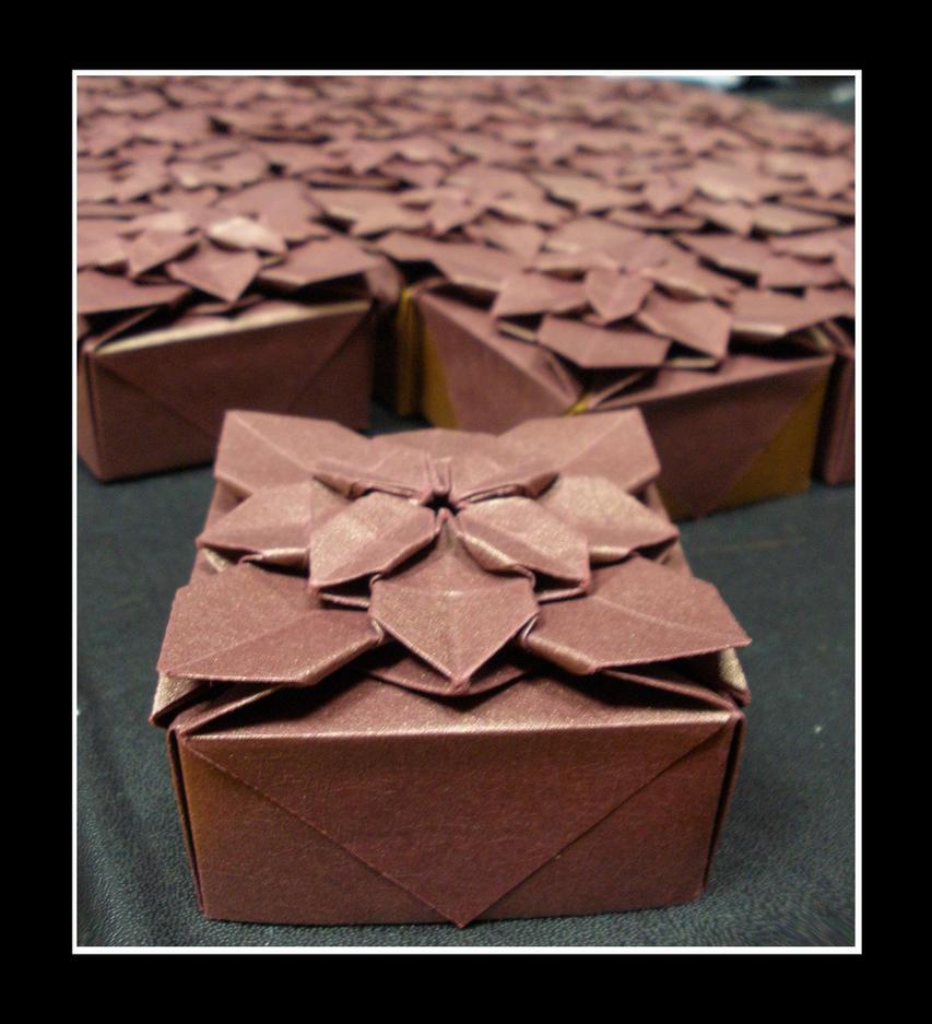 Origami Boxes by yamixhikari