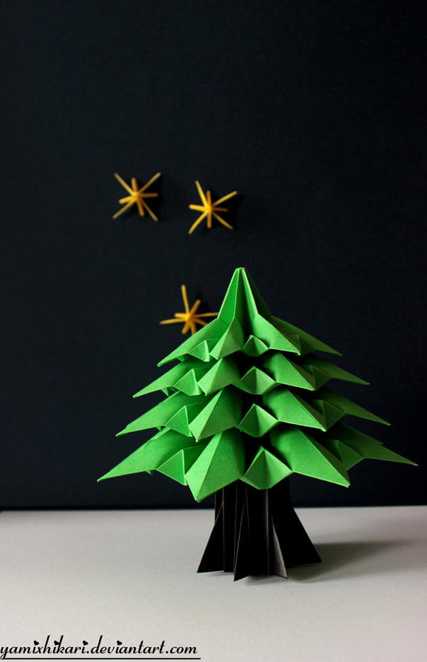 Origami Tree by yamixhikari