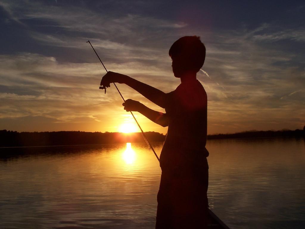 Little boy fishing hot girls wallpaper for Little boy fishing