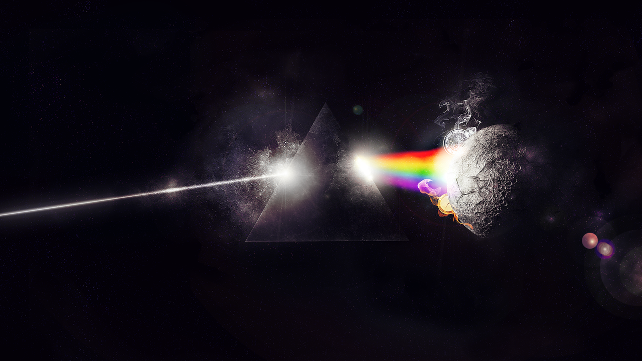 "dark side of the moon analysis Pink floyd's ""the dark side of the moon"": how an album cover became an icon."