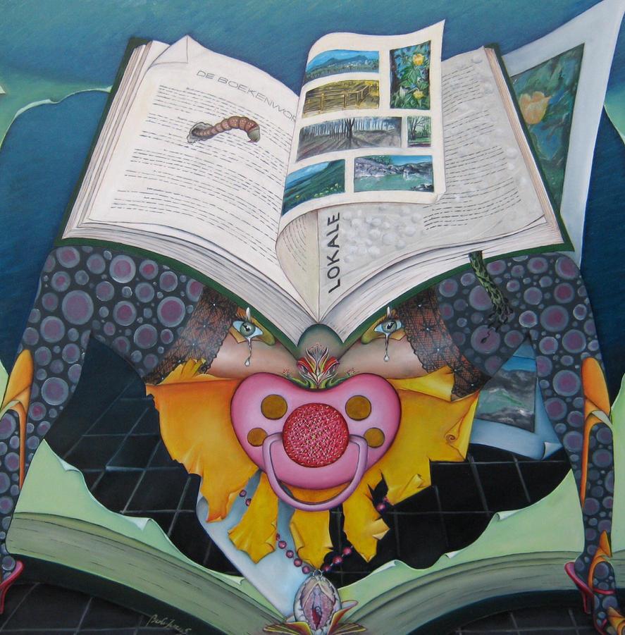 The bookworm by bobivens